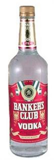 Banker's Club Vodka 750ml - Case of 12